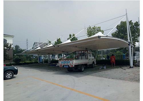 莒县城膜结构停车棚